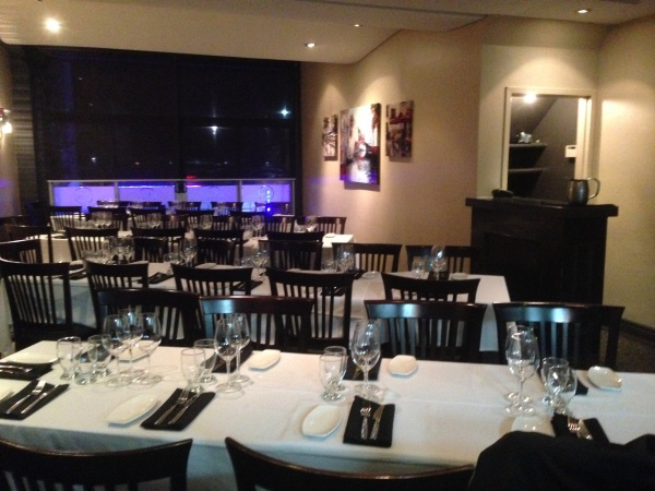 Gallery clarkson mediterranean bistro mississauga on for Best private dining rooms mississauga